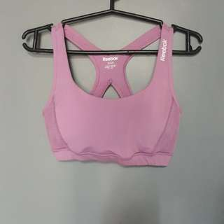 Authentic reebok sports bra