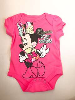 Disney Minnie Mouse Baby Romper