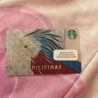 Starbucks Philippine Card