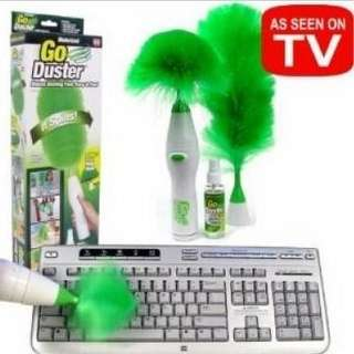 Go Duster Powered Operated Cleaning Brushes