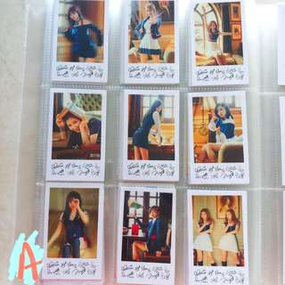 TWICE SIGNAL POLAROID SET