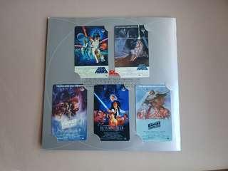 ✳The Star Wars Collection SMRT Transitlink Cards