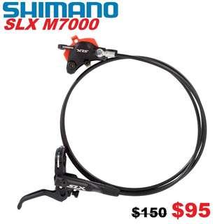 Shimano SLX M7000 Hydraulic Disc Brake One Side Only-------- (XTR M9020 XT M8020 M8000 M785 SLX M7000 M675 M315 MT2 MT4 MT5 MT5E MT6 MT7 MT8 Trail) Dyu