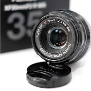 Fujinon 35mm f2 Fujifilm Fix Bokeh