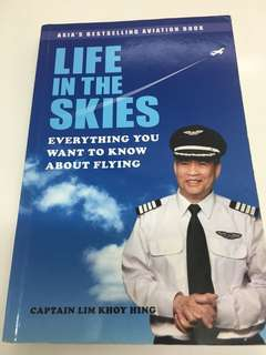 Captain Lim 'life in the skies' airplane book