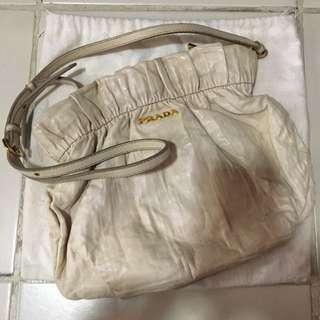 Authentic Prada Nappa Shoulder Bag
