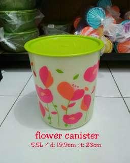 Toples flower tupperware