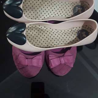 Mel size 7 and Zaxy size 5(sold as set)