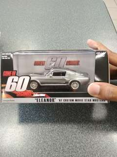 1:43 Eleanor MUSTANG GT500 1967 Gone in 60 seconds MOVIE