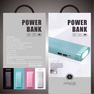powerbank with flash light