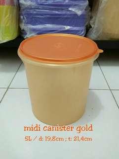 Midi canister tupperware