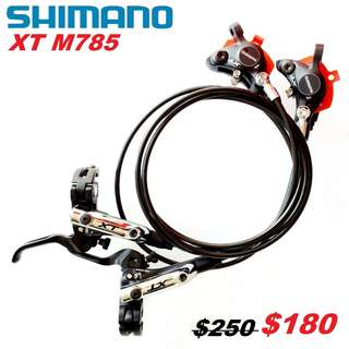 Shimano XT M785 Hydraulic Disc Brake-------- (XTR M9020 XT M8020 M8000 M785 SLX M7000 M675 M315 MT2 MT4 MT5 MT5E MT6 MT7 MT8 Trail) Dyu
