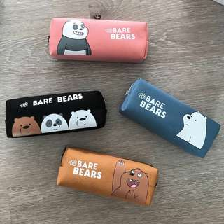 INSTOCK - We Bare Bears Pencil Case (LIMITED STOCKS)