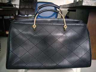 Authentic Charles and Kieth Black Bowling Bag