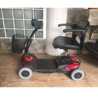 Electric 4-Wheel Scooter for Seniors.