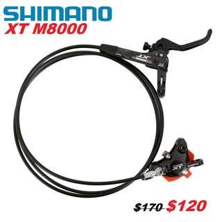 Shimano XT M8000 Hydraulic Disc Brake ( One Side Only)-------- (XTR M9020 XT M8020 M8000 M785 SLX M7000 M675 M315 MT2 MT4 MT5 MT5E MT6 MT7 MT8 Trail) Dyu