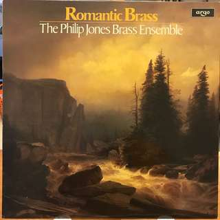 Romantic Brass played by Philip Jones Brass Ensemble ARGO ZRG 928