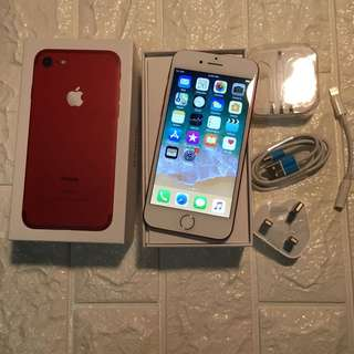 Iphone 7 128gb red 紅 good condition