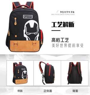 Ironman And Captain America Backpack