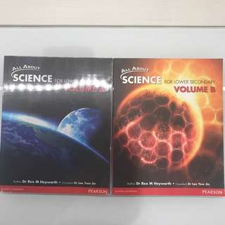 All About Science (Lower Sec Textbook)
