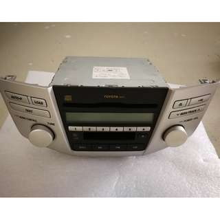 Toyota Harrier RX240/RX330 Radio Unit