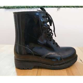 Black Wellington Boots - ASOS Glamorous
