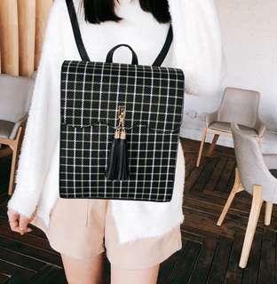 2way tassel backpack