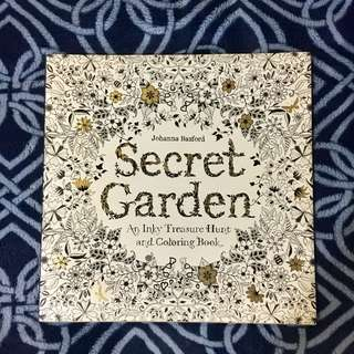Secret Garden Coloring Book (BRAND NEW / US EDITION)