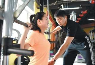 Sign up for personal training (free gym entry )