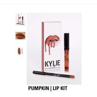 Kylie Lip Kit ( Pumpkin )