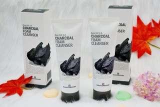 RA & GOWOORI CHARCOAL FOAM CLEANSER 120ml
