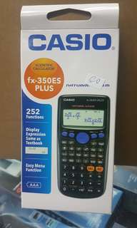 CASIO SCIENTIFIC CALCULATOR 47DC 350ES PLUS