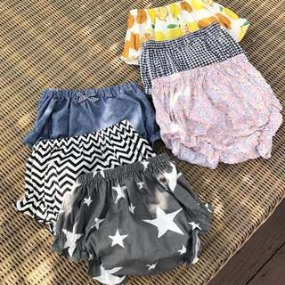 BB嬰兒兒童短褲 夏季 baby summer shorts