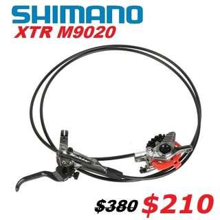 Shimano XTR M9020 Trail Disc Brake One-Side Only-------- (XTR M9020 XT M8020 M8000 M785 SLX M7000 M675 M315 MT2 MT4 MT5 MT5E MT6 MT7 MT8 Trail) Dyu