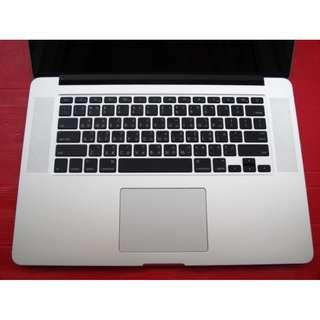 原廠過保 15吋 Macbook Pro A1398 MJLQ2TA/A 16G/256G※換機優先
