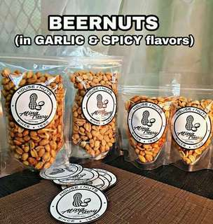 ⌛ Aling Tinay's Beernuts in POUCHES 200g/100g
