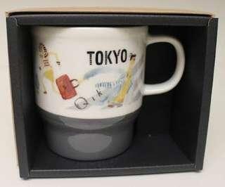Starbucks Japan Geo City Mug