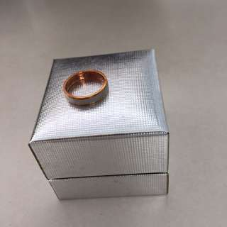 Platinum Ring for piggy finger