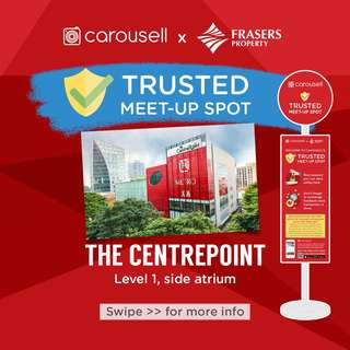 Trusted Meet-Up Spot: The Centrepoint