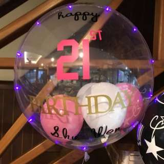 Customise / Personalized Bubble Balloon