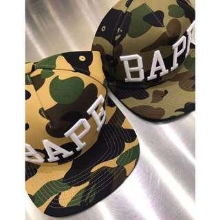BAPE 1ST CAMO SNAP BACK CAP 683029b37edb