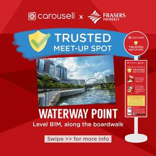 Trusted Meet-Up Spot: Waterway Point