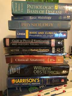 Medical books