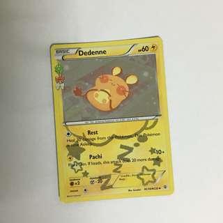 Pokemon Cards Generation Dedenne Holo Rare