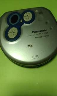 🚚 Cd player Panasonic松下 隨身聽 復古 可使用 電器