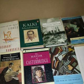 Vintage highly rated and prize winning books