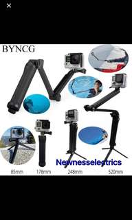 Brand New And High Quality Gopro 3-way Monopod And Tripod