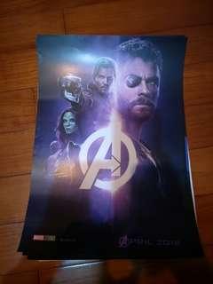 復仇者聯盟3海報