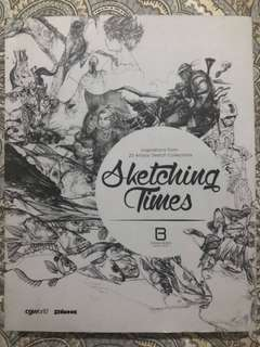 Art Book • A Sketching Times: Inspitations from 25 Artists' Sketch Selections •