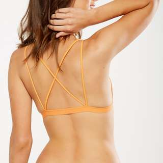 New Cotton On Orange Bralette Trendt Back Design (Sizes S and M avail)